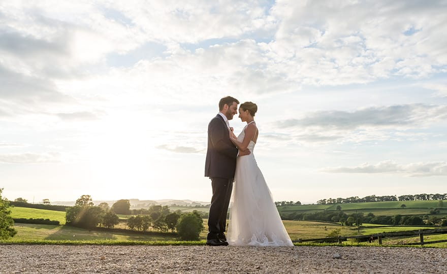 Exclusive weddings at West Axnoller Farm